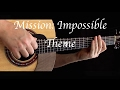 Mission: Impossible Theme - Fingerstyle Guitar
