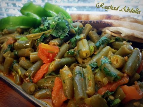 Fasolia Bzit (green beans with tomato)