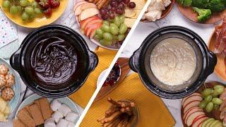Sweet & Savory Slow Cooker Fondues
