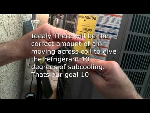 The refrigerant flow explained in these two new 20 seer air conditioners.