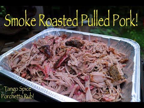 Pulled Pork | Tango Spice Porchetta Rub | Weber Smokey Mountain Cook
