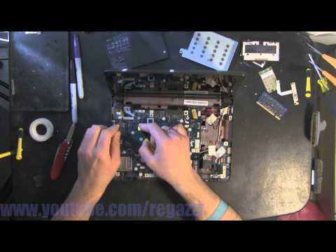 ACER KAV10  take apart video, disassemble, how to open disassembly