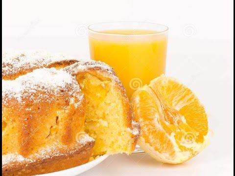 Recette de Gâteau à l'orange super leger et moelleux /Orange cake recipe / كيك البرتقال