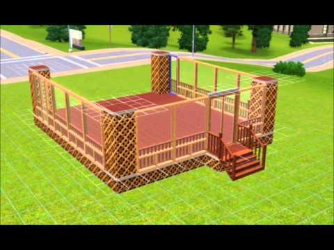 The Sims 3: How to Build a Closed-In Porch