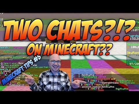 Minecraft: How to Set Up TWO CHATS Using 5Zig