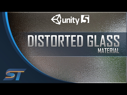 Creating a Distorted / Frosted Glass Material in Unity 5