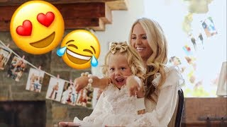 SAVANNAH'S BRIDAL SHOWER!!! (EVERLEIGH GETS WAY TOO TURNT!!!)