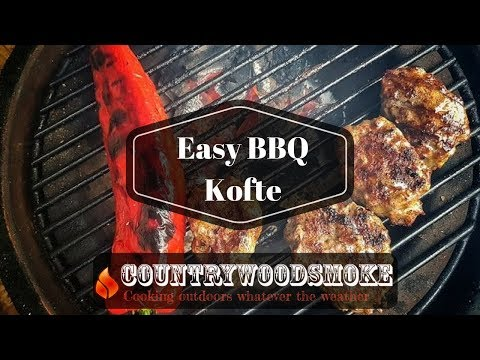 Easy BBQ Kofte