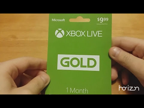Free 1 Month Xbox Live Gold Trial (2018)