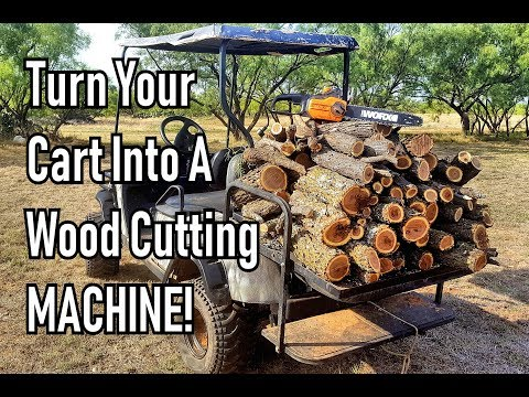 How to turn your Electric Buggy into a wood cutting Machine!