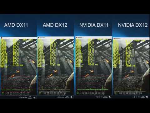 Battlefield 1 AMD Ryzen 7 1700 DirectX 11 vs. DirectX 12 & AMD vs. Nvidia *RAW