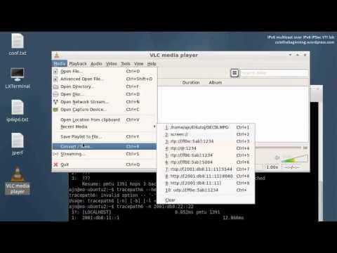 IPv6 multicast over IPv6 IPSec VTI