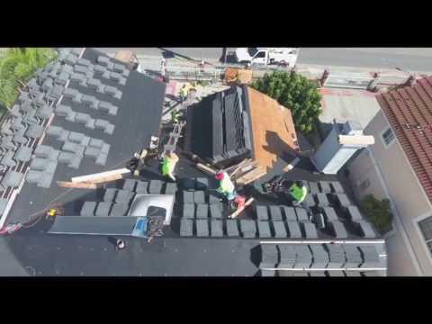 Boral slate tile roof