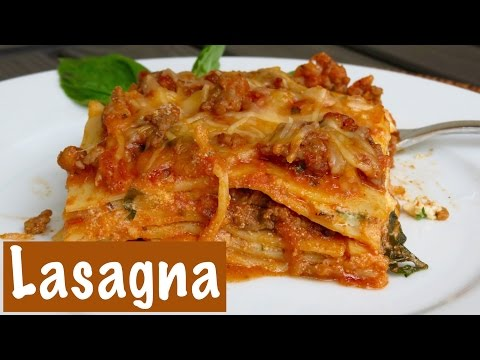 Classic Italian Meat & Sausage Lasagna | The Frugal Chef