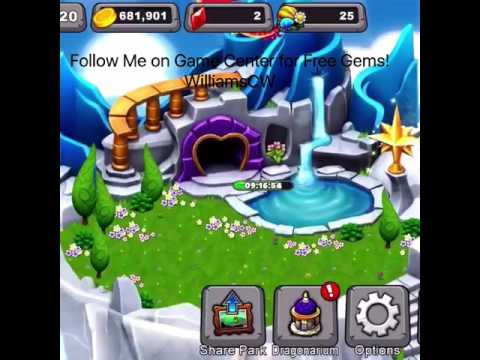How to Get Free Gems in DragonVale ( No Jailbreak/Downloads Required)