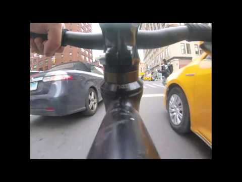 GoPro Timelapse: Manhattan Fixed Gear Biking