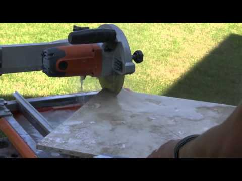 How To Cut Travertine Tile