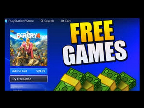 How to get any game for Free!!!! On PS4
