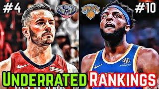 The Most Underrated NBA Player From Every NBA Team Ranked