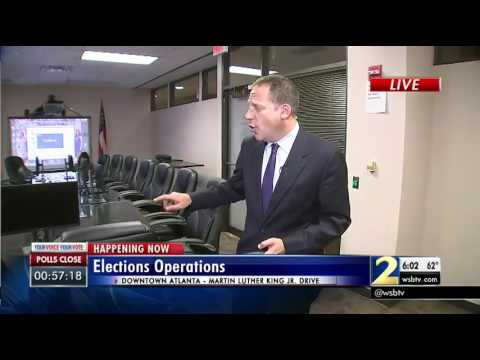 Secretary of State: So far no problems with voting in Georgia