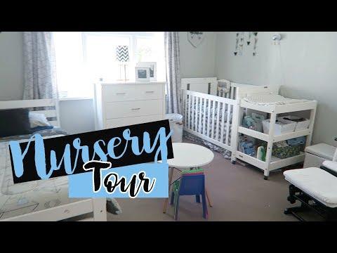 Nursery Tour | Boys shared room