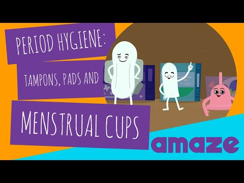 Period Hygiene: Tampons, Pads and Menstrual Cups