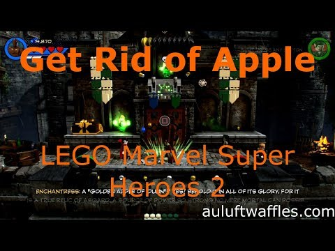 Get Rid of Apple Level 3 LEGO Marvel Super Heroes 2