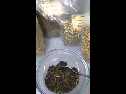 Blending Tea & Herbs