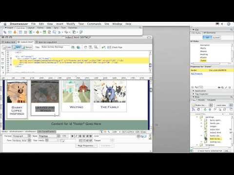 Adobe Dreamweaver CS3:: CREATING CSS LAYOUTS: Adding Borders with CSS