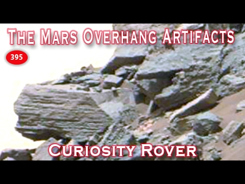 Martian Overlook With Ancient Artifacts Everywhere