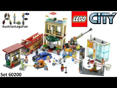 Lego City 60200 Capital City - Lego Speed Build Review
