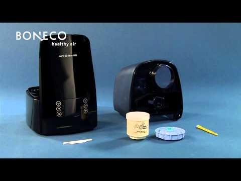 Ultrasonic Humidifier U650: Product video of BONECO healthy air