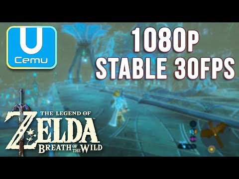 How to Play Zelda: BOTW in Full Speed w/ Stable FPS, No Bugs/Crashes (Cemu Wii U Emulator)