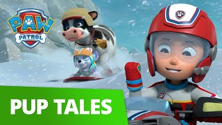Emergency COW Rescue in a BLIZZARD! 🐮❄️ PAW Patrol Pup Tales Rescue Episode!