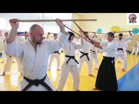 International Aikido Seminar with Hiromichi Nagano April 2017, Kyiv Ukraine