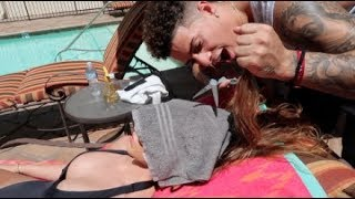 HAIRCUT PRANK ON GIRLFRIEND!!! (GONE WRONG)