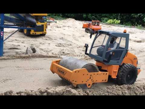 RC Construction Work preparation for the sieving plant