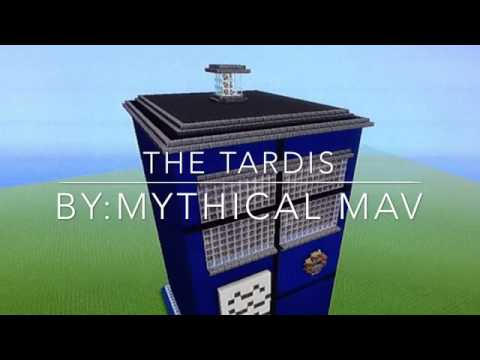 MINECRAFT ps3 / GIANT TARDIS TIMELAPSE!?
