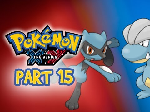 Pokemon X and Y Gameplay Walkthrough Part 15 - Bagon & Riolu Catch Location (3DS Commentary)