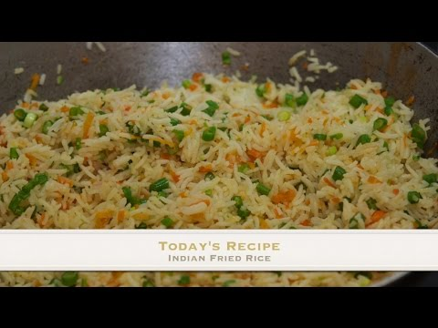 Indian Style Vegetable fried Rice Recipe by Capt.Avtar Singh RajaMoneyTravels.com