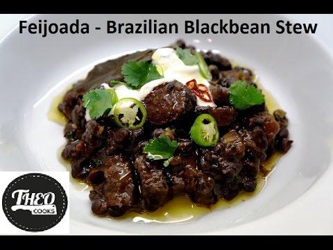 Feijoada - traditional Brazilian Black Bean Stew by Theo Michaels, Masterchef