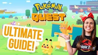 POKEMON QUEST ULTIMATE BEGINNERS GUIDE! ZoeTwoDots