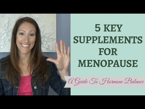 Best Supplements for Menopause Symptoms | Natural Menopause Treatment