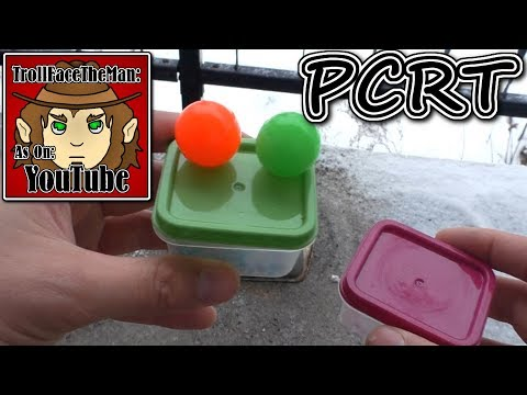 PCRT RV, Bouncy Ball (Potassium Chlorate Reaction Test Revamped)