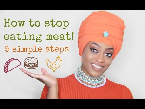 How to stop eating meat: 5 simple tips 🍗🍖🍤🍔🌭