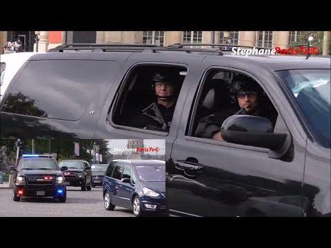 U.S Secret Service armed  in Paris.  (Melania Trump)