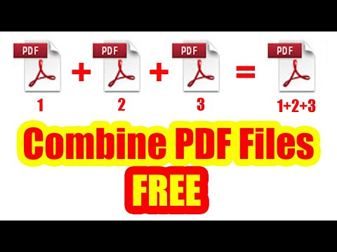 How To Merge PDF Files Into One | Free PDF Combiner Offline