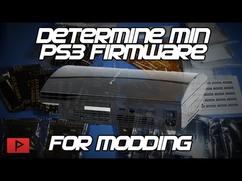 [How To] Determine The Minimum PS3 Firmware for Downgrading Tutorial