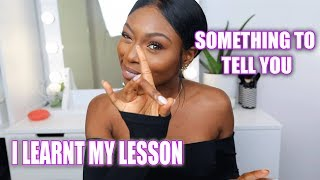 SOMETHING TO TELL YOU! TRUTHS I LEARNT IN 2017 ad