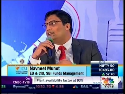 Navneet Munot, ED & CIO, SBI MF on CNBC ICAI International Conference held on 24th December, 2017